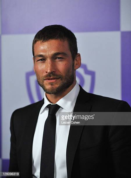 Actor Andy Whitfield attends the InStyle and Warner Bros 67th Annual Golden Globes post party held at the Oasis Courtyard at The Beverly Hilton Hotel...