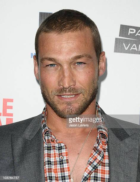 Actor Andy Whitfield attends the premiere of 'Middle Men' at ArcLight Hollywood on August 5 2010 in Hollywood California
