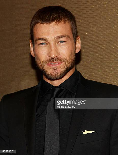 Actor Andy Whitfield attends the premiere of 'Spartacus Blood and Sand' at the Tribeca Grand Screening Room on January 19 2010 in New York City