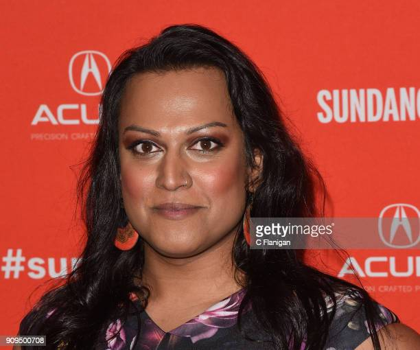 Actor Aneesh Sheth attends the 'A Kid Like Jake' Premiere during the 2018 Sundance Film Festival at Eccles Center Theatre on January 23 2018 in Park...
