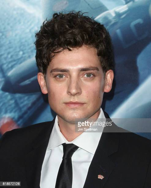 Actor Aneurin Barnard attends the 'DUNKIRK' New York premiere at AMC Lincoln Square IMAX on July 18 2017 in New York City