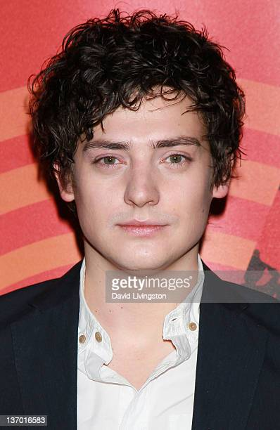 Actor Aneurin Barnard from the film 'We'll Take Manhattan' attends Ovation's presentation at the Television Critics Association Winter Tour at the...
