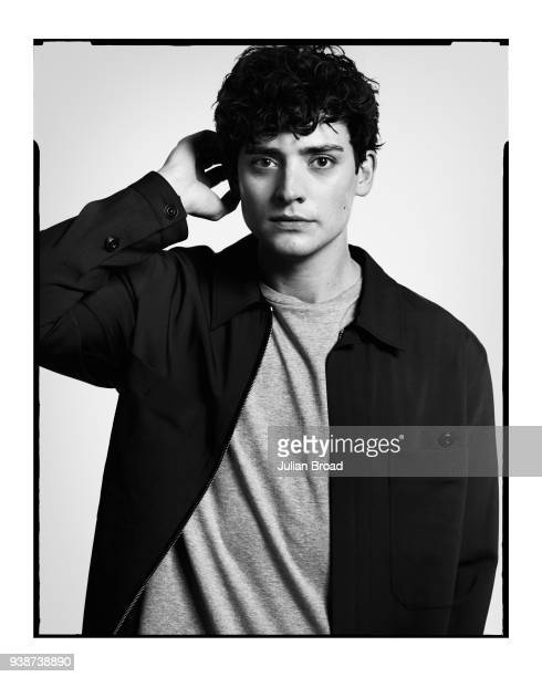Actor Aneurin Barnard is photographed for Harrods magazine on January 10 2017 in London England