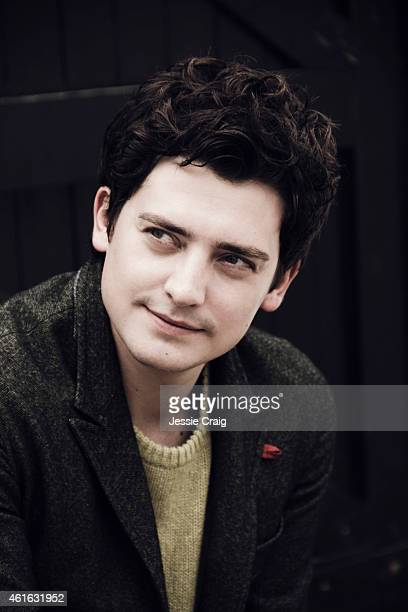 Actor Aneurin Barnard is photographed for SID magazine on September 11 2014 in London England
