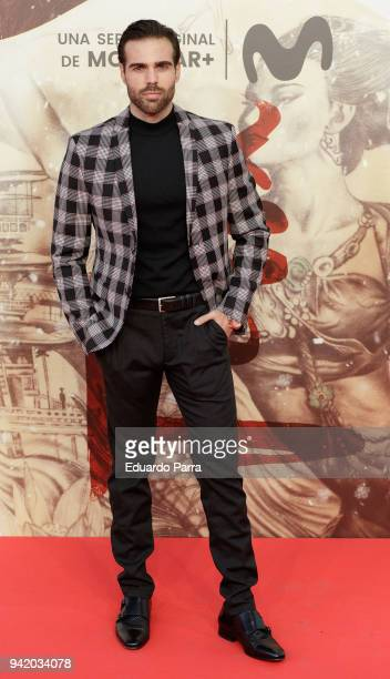 Actor Angel Caballero attends the 'Felix' premiere at Callao cinema on April 4 2018 in Madrid Spain