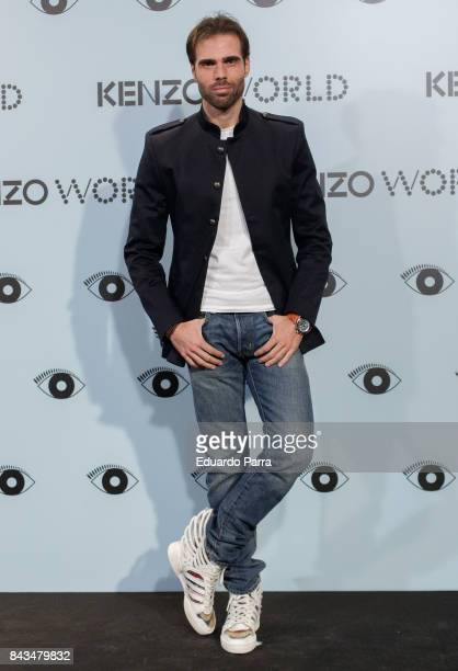 Actor Angel Caballero attends the 'Kenzo summer party' photocall at Royal Theatre on September 6 2017 in Madrid Spain