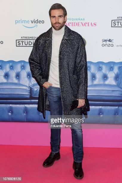 Actor Angel Caballero attends the 'Pequenas coincidencias' photocall at Palacio de la Prensa cinema on December 03 2018 in Madrid Spain