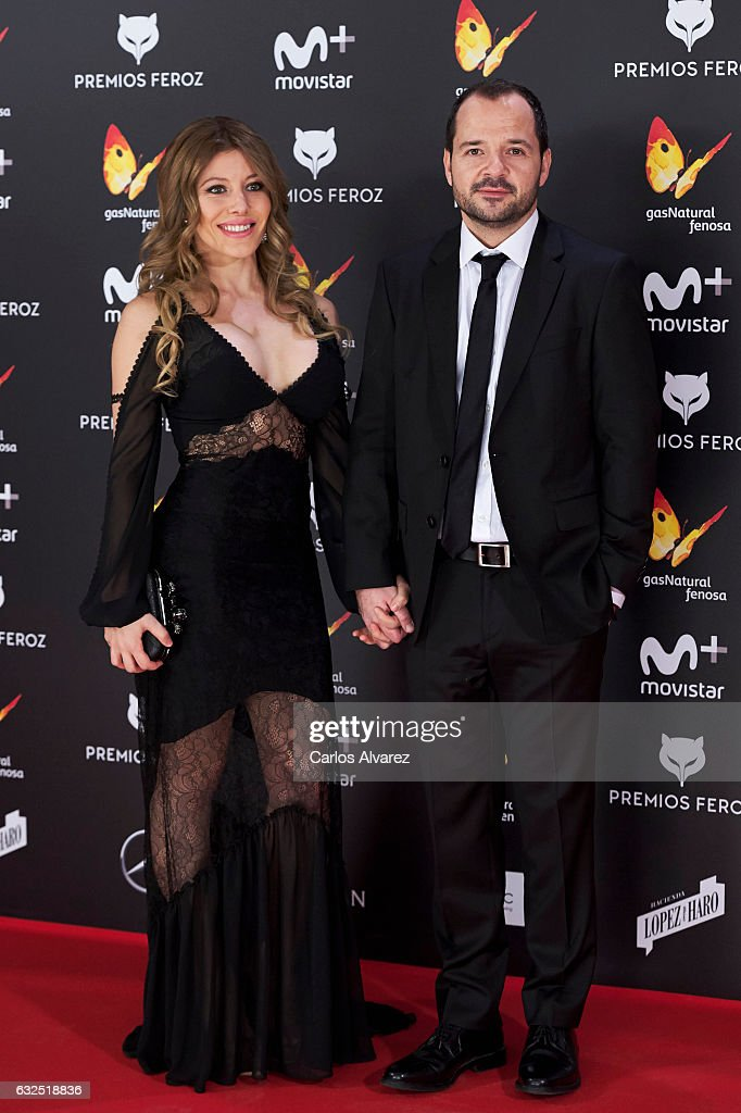 Actor Angel Martin attends the Feroz cinema awards 2016 at the Duques de Pastrana Palace on January 23, 2017 in Madrid, Spain.