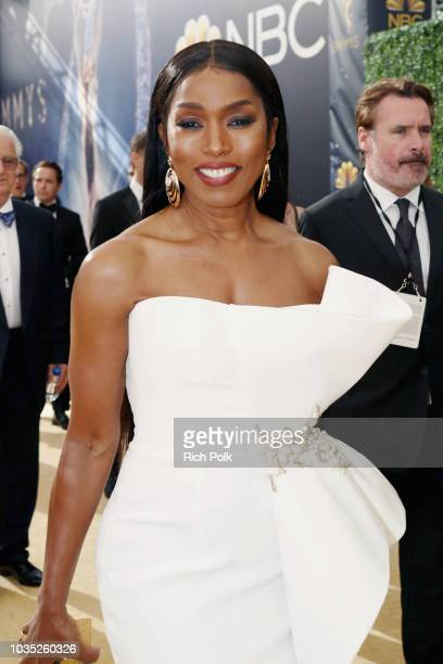 Actor Angela Bassett attends the 70th Annual Primetime Emmy Awards at Microsoft Theater on September 17 2018 in Los Angeles California