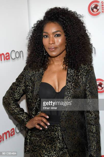 Actor Angela Bassett attends the CinemaCon 2018 Paramount Pictures Presentation Highlighting Its Summer of 2018 and Beyond at The Colosseum at...