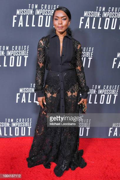 Actor Angela Bassett attends the 'Mission Impossible Fallout' US Premiere at Lockheed Martin IMAX Theater at the Smithsonian National Air Space...
