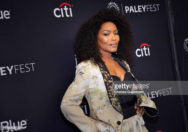 Actor Angela Bassett attends the Paley Center For Media's 2019 PaleyFest LA 911 at Dolby Theatre on March 17 2019 in Hollywood California
