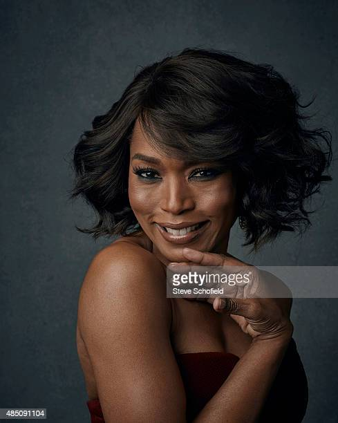Actor Angela Bassett is photographed for Emmy magazine on December 1 2014 in Los Angeles California