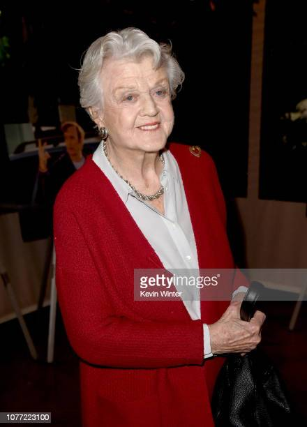 Actor Angela Lansbury attends the 19th Annual AFI Awards at Four Seasons Hotel Los Angeles at Beverly Hills on January 4 2019 in Los Angeles...