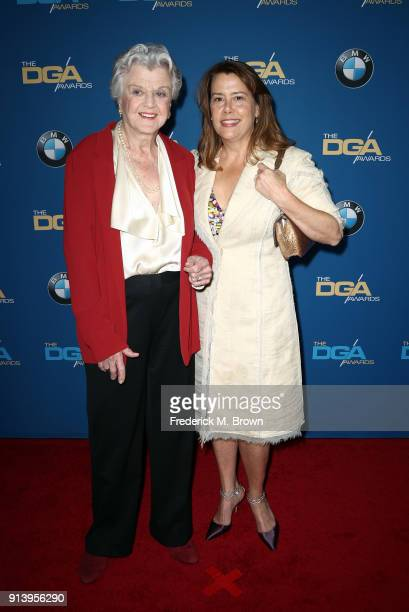 Actor Angela Lansbury attends the 70th Annual Directors Guild Of America Awards at The Beverly Hilton Hotel on February 3 2018 in Beverly Hills...