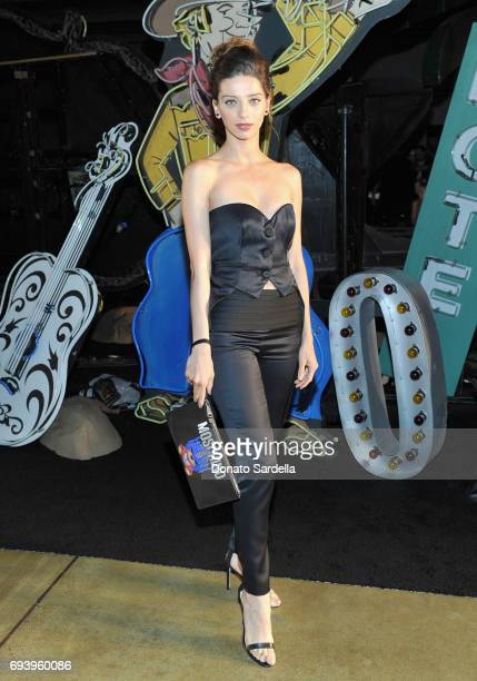 Actor Angela Sarafyan attends Moschino Spring/Summer 18 Menswear and Women's Resort Collection at Milk Studios on June 8 2017 in Hollywood California