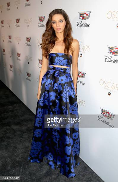 Actor Angela Sarafyan attends the Cadillac Oscar Week Celebration at Chateau Marmont on February 23 2017 in Los Angeles California