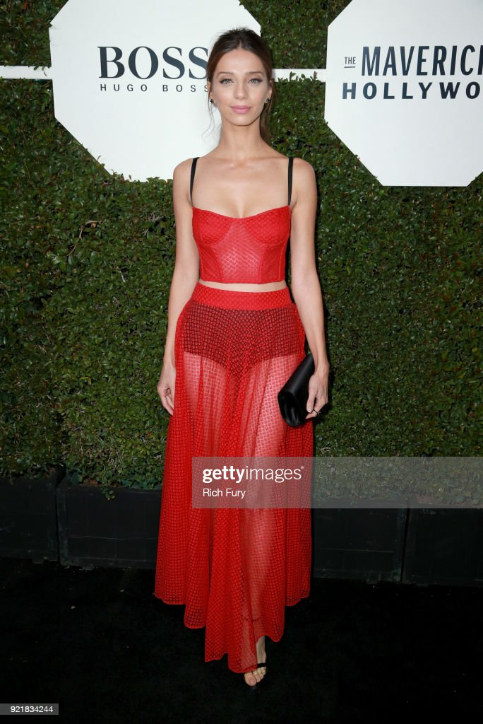 Actor Angela Sarafyan attends the Esquire's Annual Maverick's of Hollywood at Sunset Tower on February 20, 2018 in Los Angeles, California.