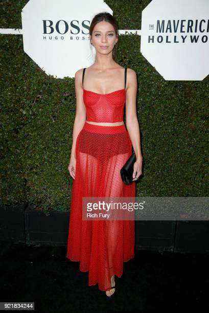 Actor Angela Sarafyan attends the Esquire's Annual Maverick's of Hollywood at Sunset Tower on February 20 2018 in Los Angeles California