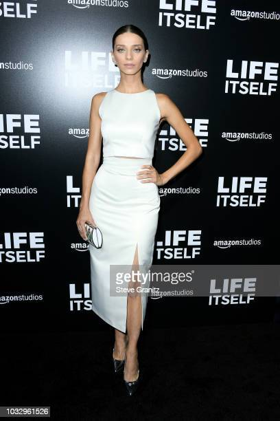 Actor Angela Sarafyan attends the premiere of Amazon Studios' Life Itself at ArcLight Cinerama Dome on September 13 2018 in Hollywood California