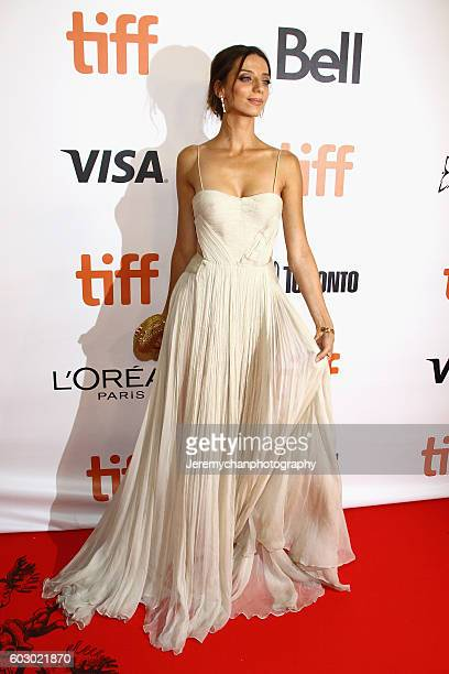 Actor Angela Sarafyan attends 'The Promise' premiere held at Roy Thomson Hall during the Toronto International Film Festival on September 11 2016 in...