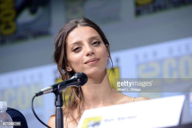 Actor Angela Sarafyan attends the 'Westworld' panel and QA Session during ComicCon International 2017 at San Diego Convention Center on July 22 2017...