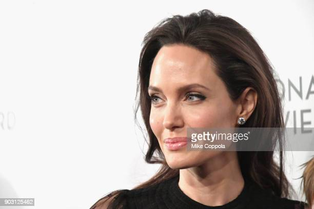 Actor Angelina Jolie attends the 2018 The National Board Of Review Annual Awards Gala at Cipriani 42nd Street on January 9 2018 in New York City
