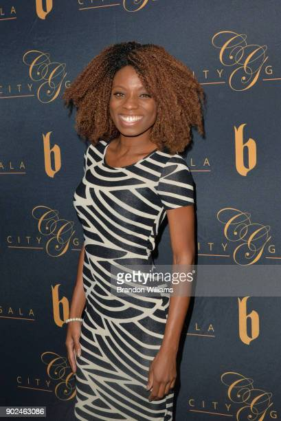 Actor Angelique Bates attends the City Gala 'Wealth and Mastery Mindset' poker tournament at InterContinental Hotel on January 7 2018 in Century City...