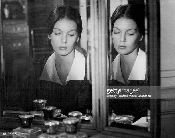 Actor Anicee Alvina in a scene from the film 'The Beguines' 1972