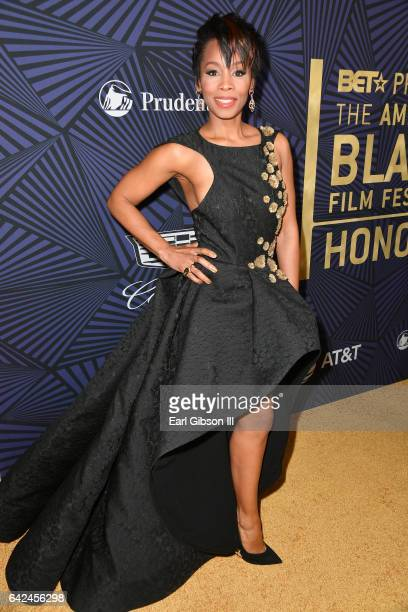 Actor Anika Noni Rose attends BET Presents the American Black Film Festival Honors on February 17 2017 in Beverly Hills California