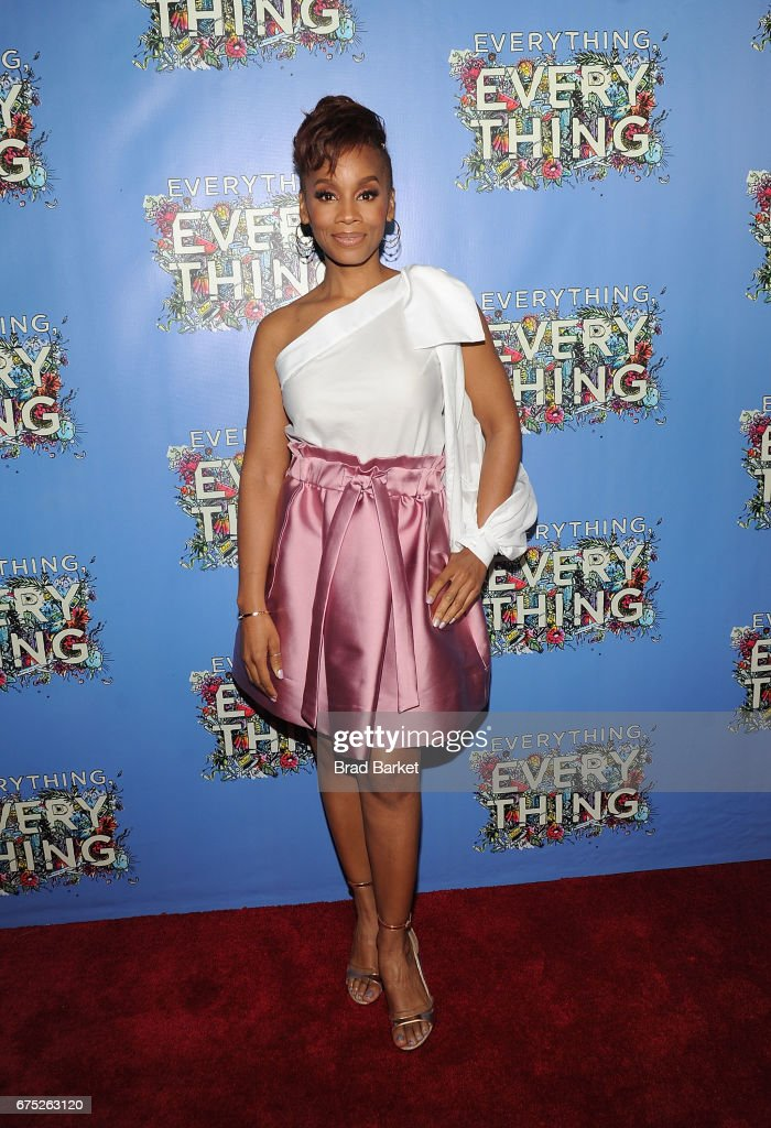 Actor Anika Noni Rose attends the 'Everything, Everything' New York Screening at The Metrograph on April 30, 2017 in New York City.
