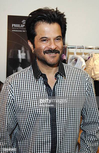 Actor Anil Kapoor at GBK's Oscar Lounge At SLS Hotel Day 2 on February 21 2009 in Los Angeles California