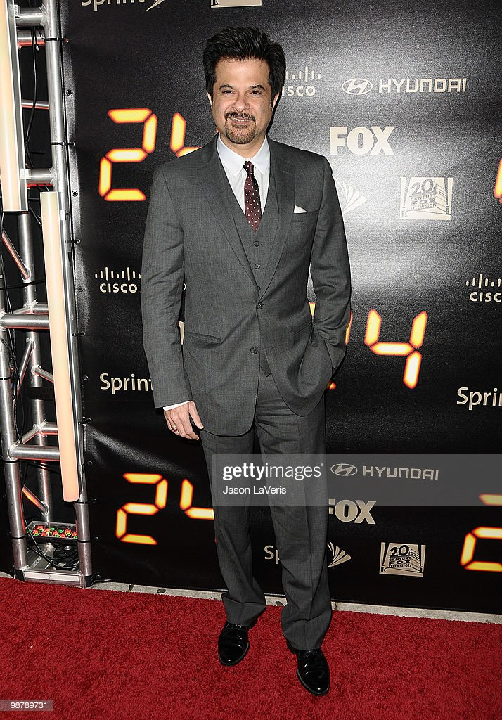 Actor Anil Kapoor attends the '24' series finale party at Boulevard3 on April 30, 2010 in Hollywood, California.