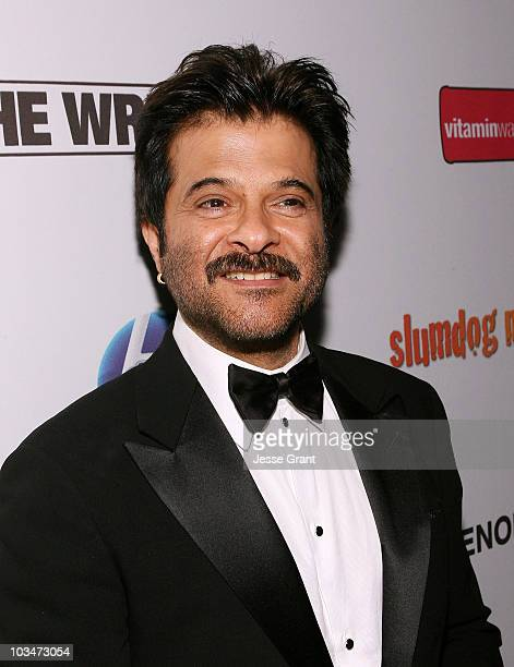 Actor Anil Kapoor attends the Official Slumdog Millionaire and The Wrestler Post Oscar Party at ONE Sunset on February 22 2009 in West Hollywood...