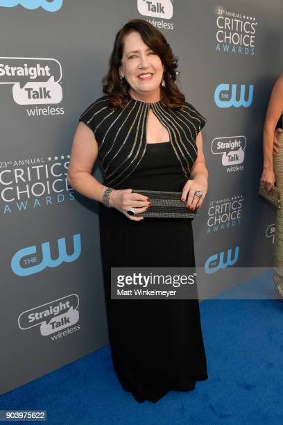 Actor Ann Dowd attends The 23rd Annual Critics' Choice Awards at Barker Hangar on January 11 2018 in Santa Monica California