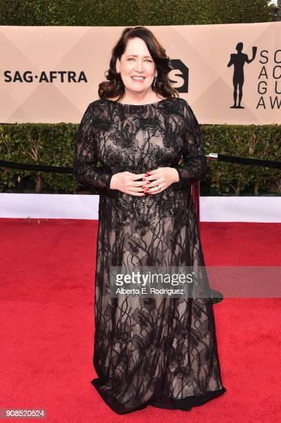 Actor Ann Dowd attends the 24th Annual Screen Actors Guild Awards at The Shrine Auditorium on January 21, 2018 in Los Angeles, California. 27522_006