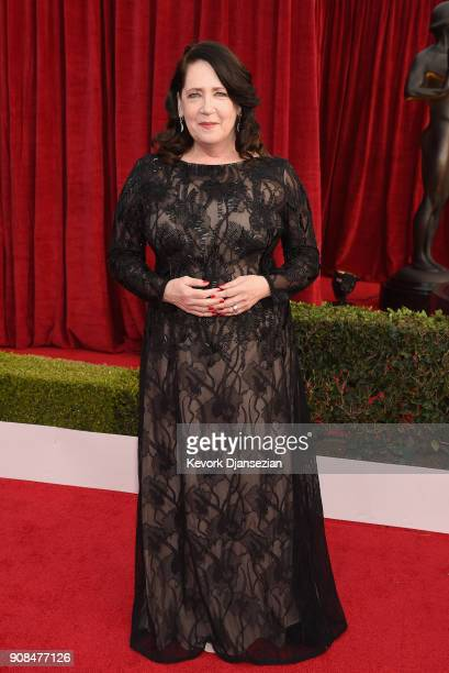 Actor Ann Dowd attends the 24th Annual Screen ActorsGuild Awards at The Shrine Auditorium on January 21 2018 in Los Angeles California