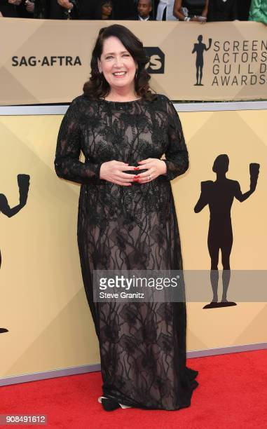 Actor Ann Dowd attends the 24th Annual Screen Actors Guild Awards at The Shrine Auditorium on January 21 2018 in Los Angeles California