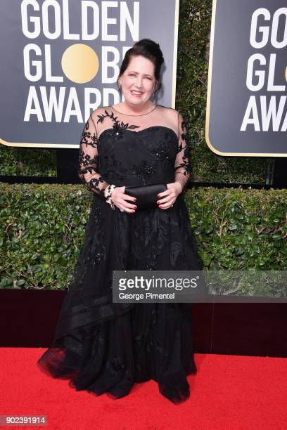 Actor Ann Dowd attends The 75th Annual Golden Globe Awards at The Beverly Hilton Hotel on January 7 2018 in Beverly Hills California
