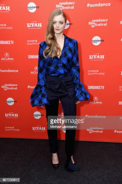 Actor Anna Baryshnikov attends the The Kindergarten Teacher Premiere during the 2018 Sundance Film Festival at Park City Library on January 19 2018...