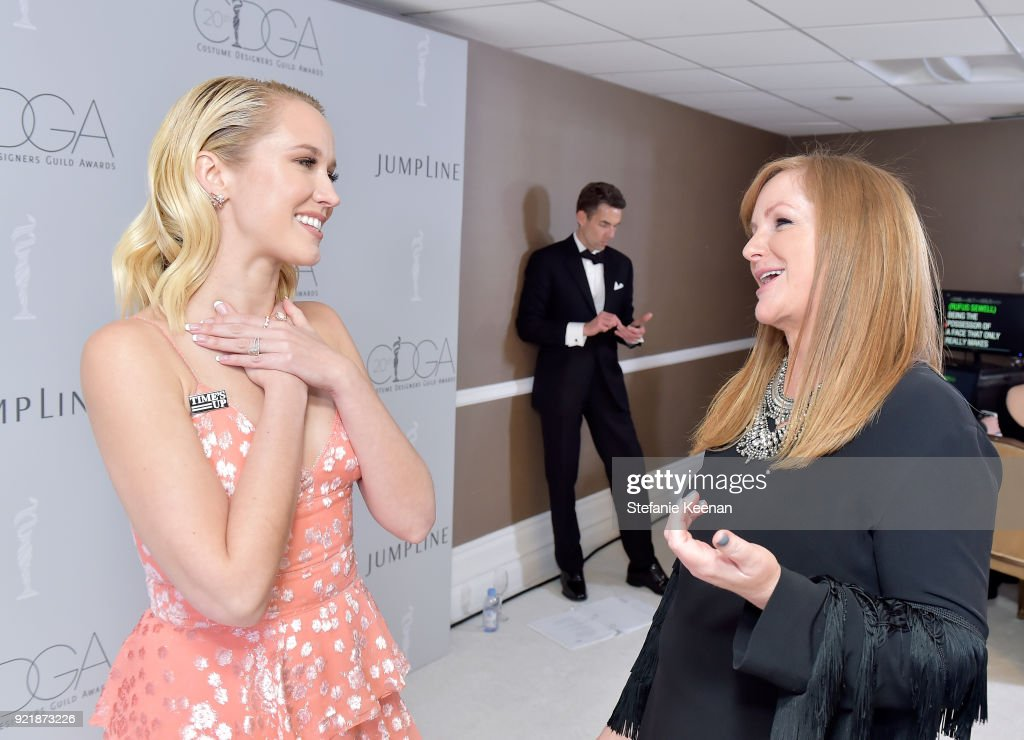 20th CDGA (Costume Designers Guild Awards) - Backstage and Green Room : News Photo