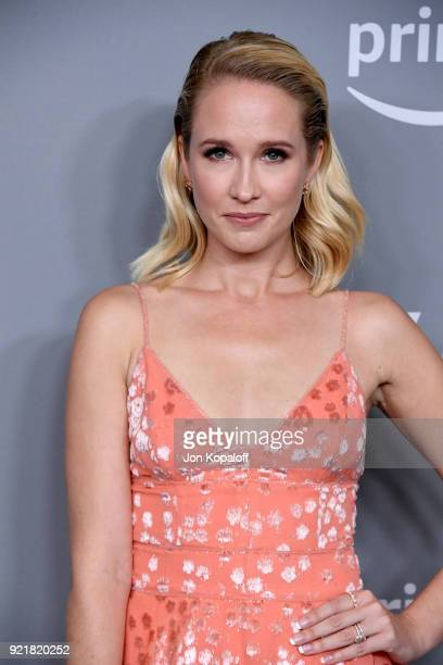Actor Anna Camp attends the Costume Designers Guild Awards at The Beverly Hilton Hotel on February 20 2018 in Beverly Hills California