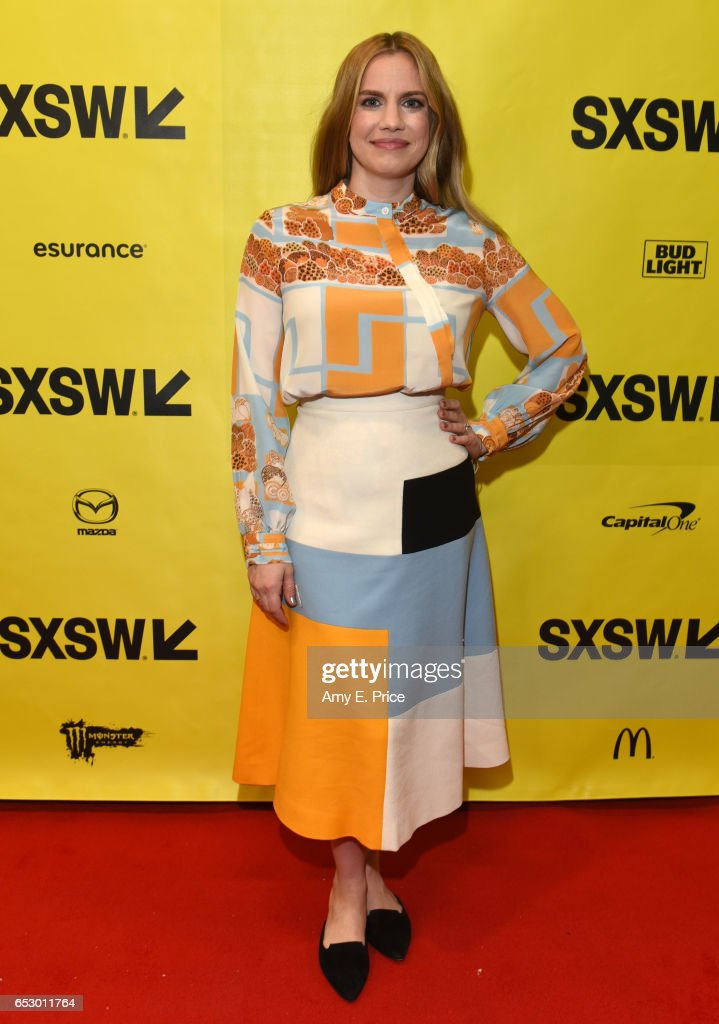 Actor Anna Chlumsky attends 'Featured Session: 'VEEP' Cast' during 2017 SXSW Conference and Festivals at Austin Convention Center on March 13, 2017 in Austin, Texas.