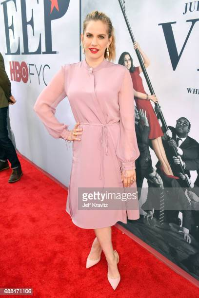 Actor Anna Chlumsky attends HBO's 'Veep' FYC Panel at Saban Media Center on May 25 2017 in North Hollywood California