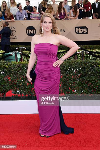 Actor Anna Chlumsky attends the 23rd Annual Screen Actors Guild Awards at The Shrine Expo Hall on January 29 2017 in Los Angeles California