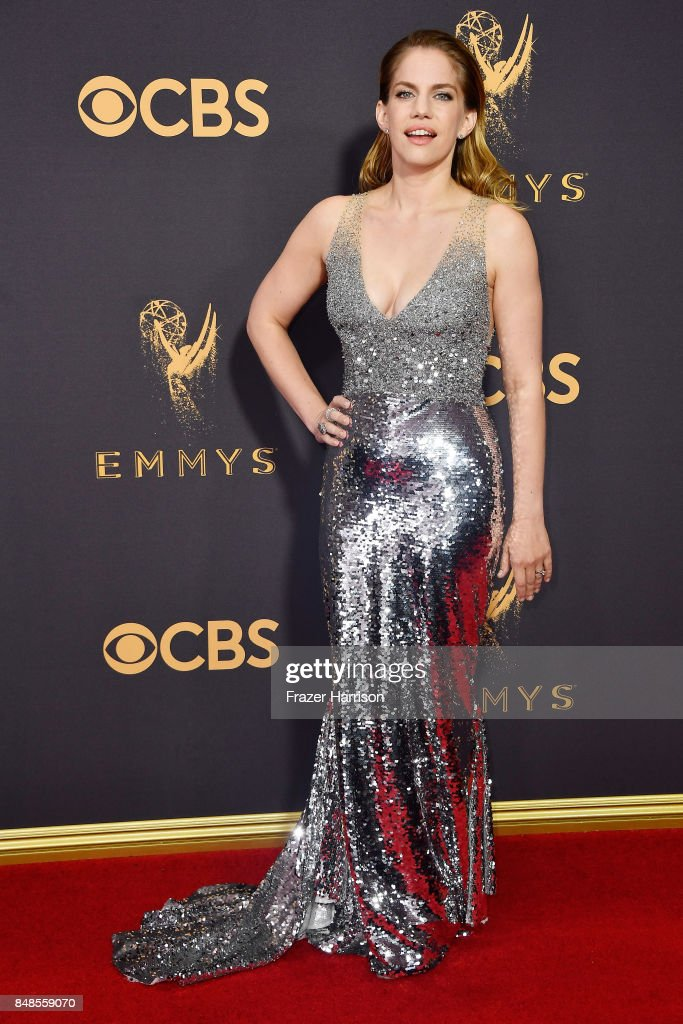 Actor Anna Chlumsky attends the 69th Annual Primetime Emmy Awards at Microsoft Theater on September 17, 2017 in Los Angeles, California.