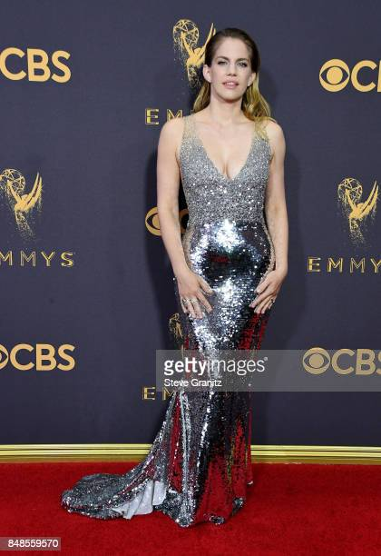 Actor Anna Chlumsky attends the 69th Annual Primetime Emmy Awards at Microsoft Theater on September 17 2017 in Los Angeles California