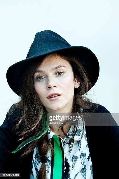Actor Anna Friel is photographed for the Independent on May 3 2013 in London England