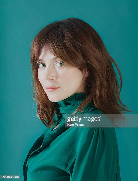 Actor Anna Friel is photographed for the Telegraph on February 27 2016 in London England
