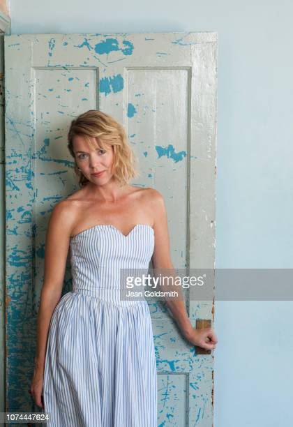 Actor Anna Maxwell Martin is photographed for Observer on July 27 2018 in London England